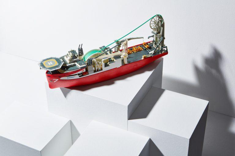 Mimaki 3D Sample - Ship Scale Model